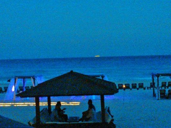 Hyatt Zilara Cancun: Vista do Restaurante Pelicanos do hotel