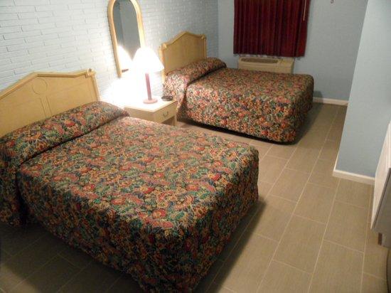 Franklin Terrace Motel: 2 Double Besd