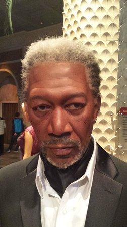 Madame Tussauds New York : Morgan Freeman! o de cera :D