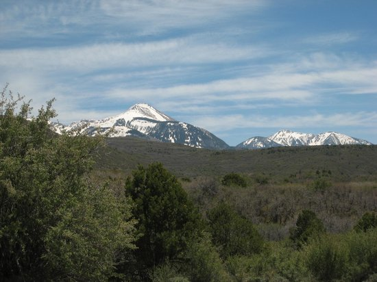 Road to Needles District: La Sal Mountains