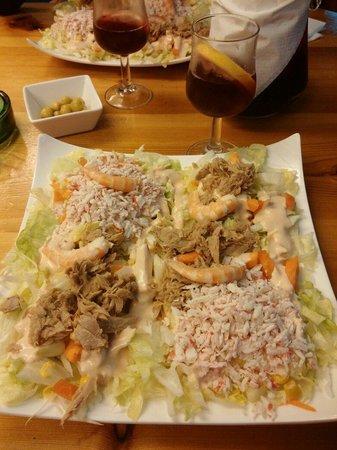 Petit Bar: Salade de la mer