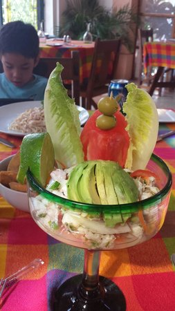 Hotel & Bungalows Mayaland : Best ceviche ever