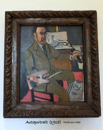 Musee Matisse: Autoportrait - Henri MATISSE