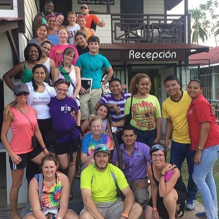 Habla Ya Spanish School, Bocas del Toro Campus- Day Classes: Global Service Learning Group-Bethel University Mckenzie, TN USA