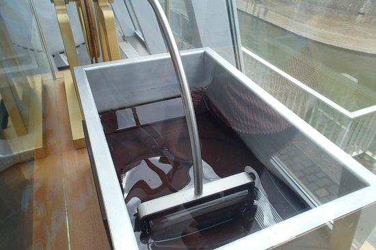 Schokoladenmuseum: チョコレート製造過程