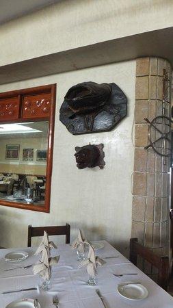 La Olla Cartagenera: In Dining Room on Wall