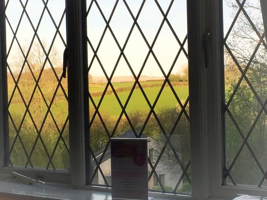 Damson Dene Hotel: room with a view