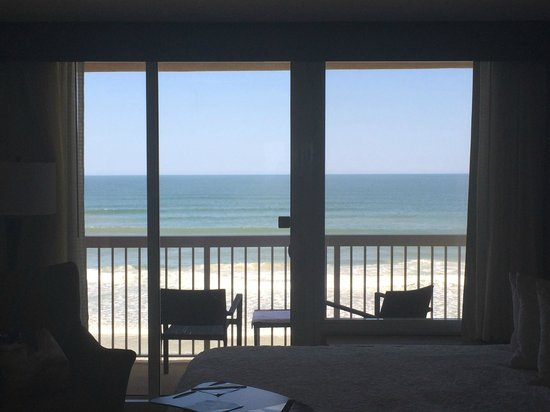 Hampton Inn Daytona Beach/Beachfront: Amazing view!