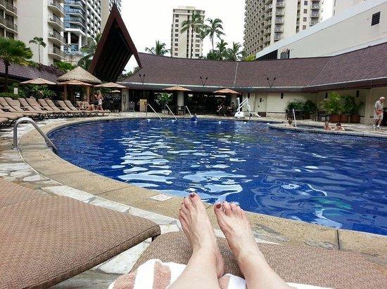 Outrigger Reef Waikiki Beach Resort: Pool