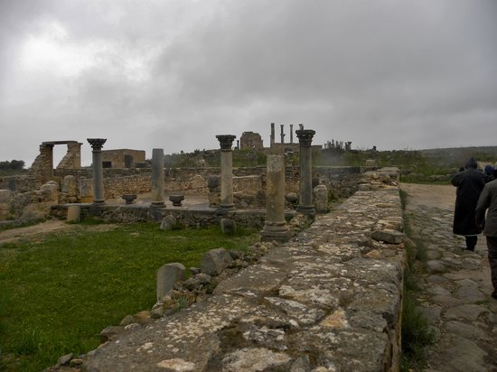 Volubilis: Panorama of the site