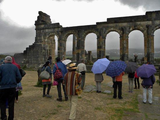 Volubilis: The Roman Temple
