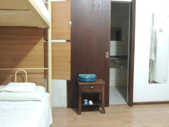 Hostel Roma Curitiba: quarto coletivo feminino
