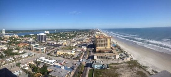 Wyndham Ocean Walk: 25th floor balcony view