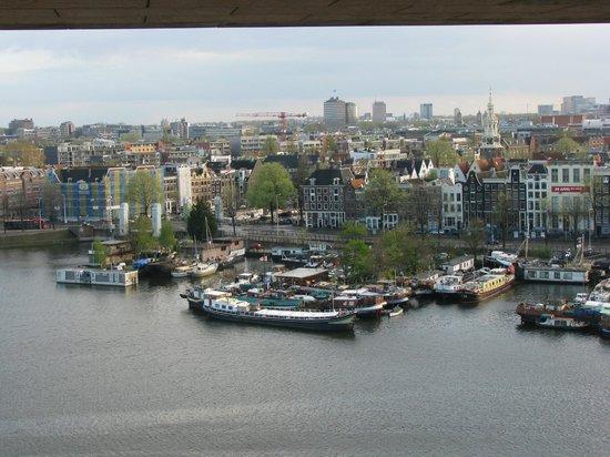Bibliothèque centrale (Openbare Bibliotheek) : Амстердам-вид из библиотеки