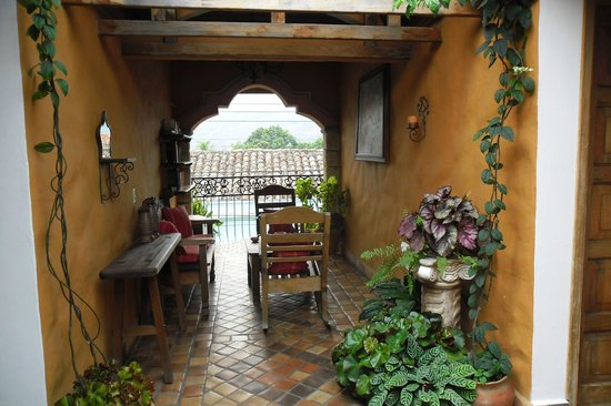 Yat B'alam Boutique Hotel: A restful corner