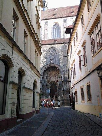 Mala strana : Visão da catedral