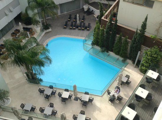 Galaxy Hotel Iraklio: Our pool view