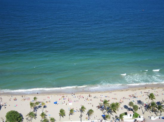 Marriott's BeachPlace Towers: View from our room