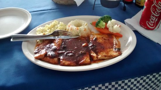 La Isla de Marin's: The spicy fish filet