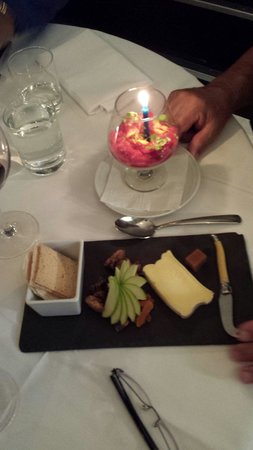 Little Truffle Dining Room & Bar: Special treat for the birthday boy.