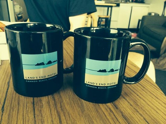 Land's End at Cannon Beach: Morning cup of coffee