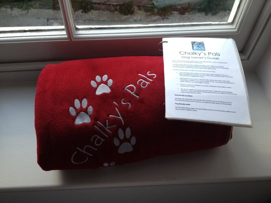 The Seafood Restaurant Accommodation: Doggie blanket