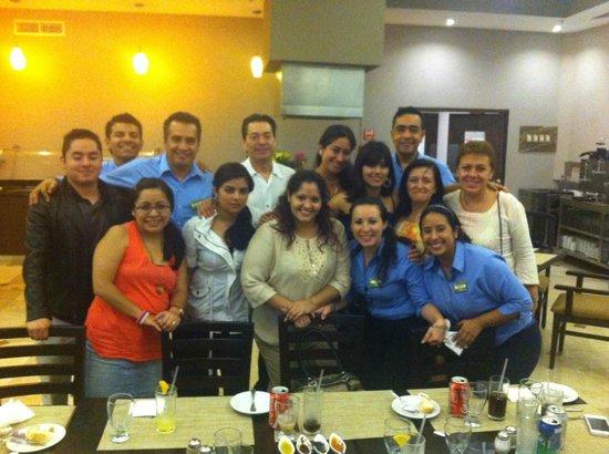 Hilton Garden Inn Boca del Rio Veracruz : rica cenita...