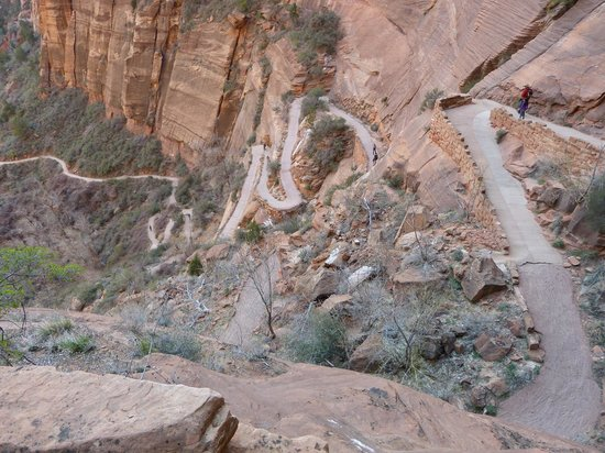 Angel's Landing: That worked up a sweat