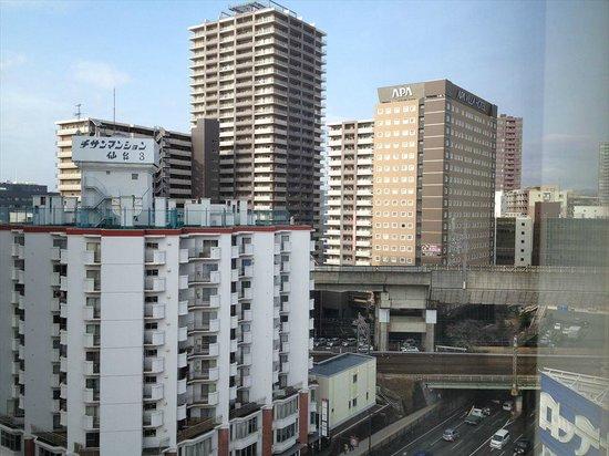 Holiday Inn ANA Sendai : 部屋からのビュー