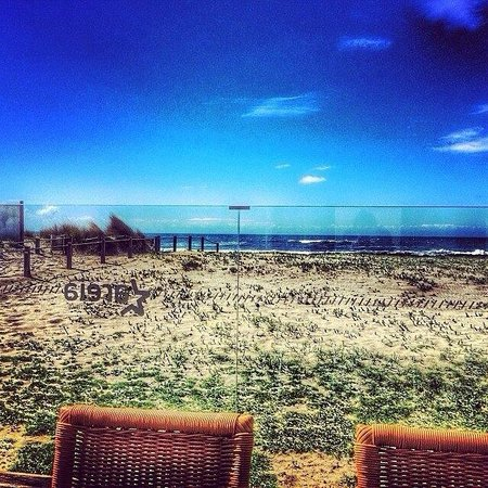 Areia Restaurante & Bar: The view from the terrace