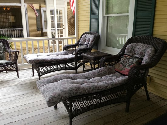 Inn on the River : back porch