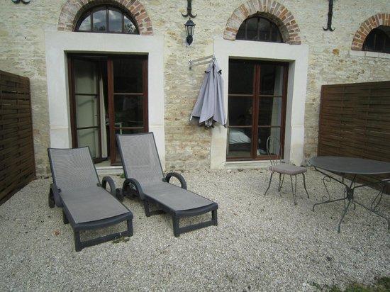 Domaine de Barive : terrasse