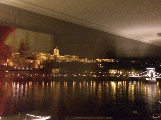 InterContinental Budapest: Vista noturna