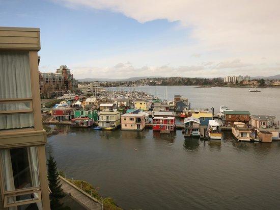 WorldMark Victoria: View of Fisherman's wharf from Worldmark 5th floor