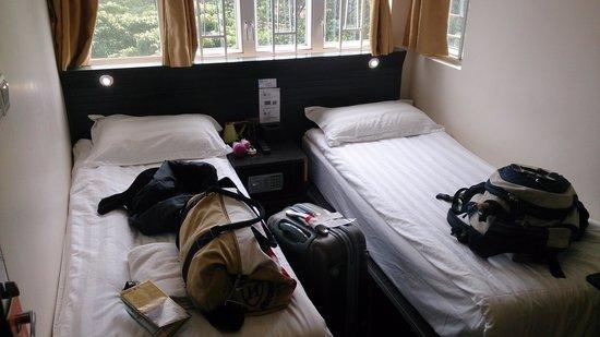 Homy Inn: quarto com janela, melhor opção