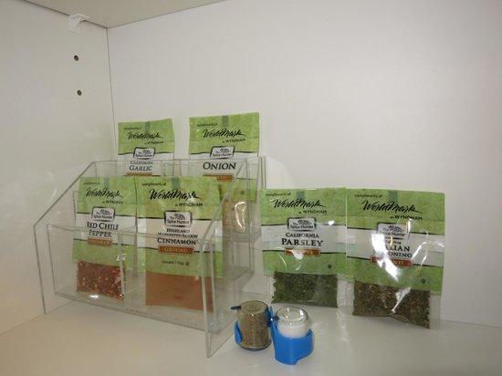 WorldMark Victoria: Inside your kitchen cabinet