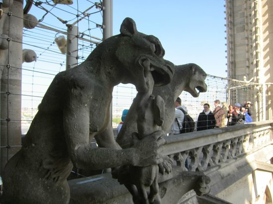 City Wonders: The Gargoyle on top of the tower