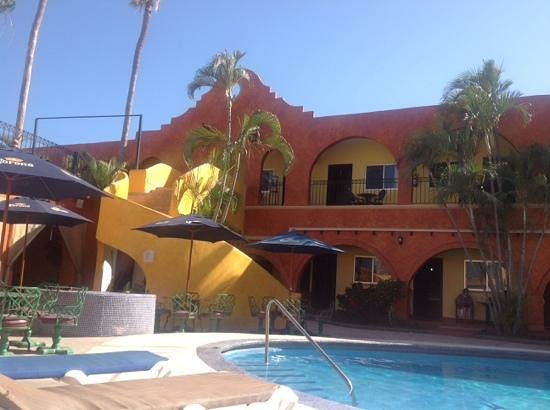 Hotel Mar de Cortez: from the pool