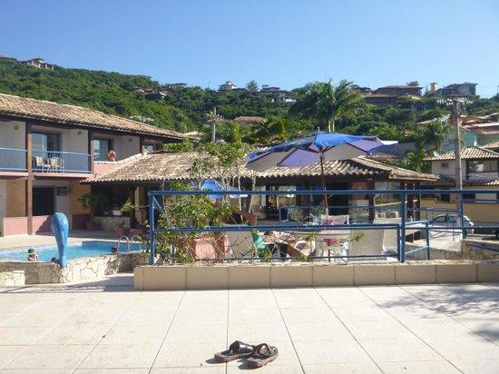 Coronado Beach Hotel: vista de la recepción y comedor