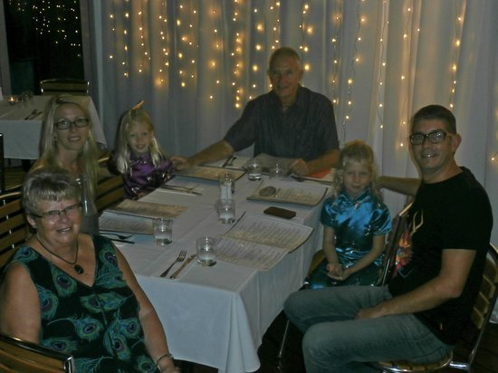 River Deck Restaurant: 66th birthday with my family