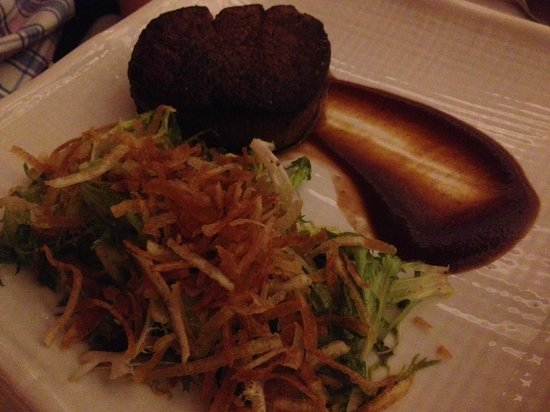 Kauai Grill: The steak that was dry :(