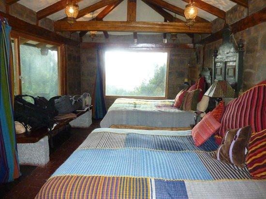 Hacienda Rumiloma: Schlafzimmer