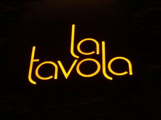La Tavola: Logomarca
