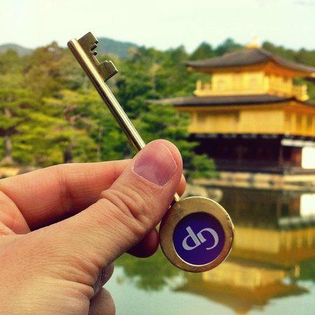 Hotel Kyoto Garden Palace: Brass Keys at the Kyoto Garden Palace Hotel