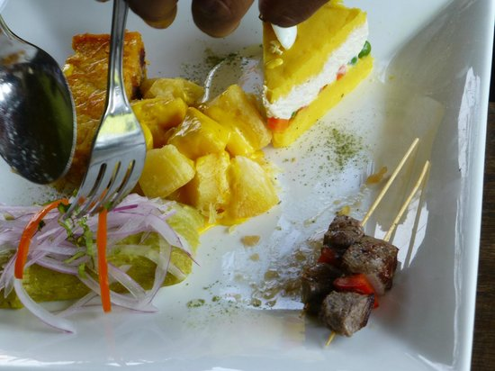 Museo Larco: trying out the cuisine