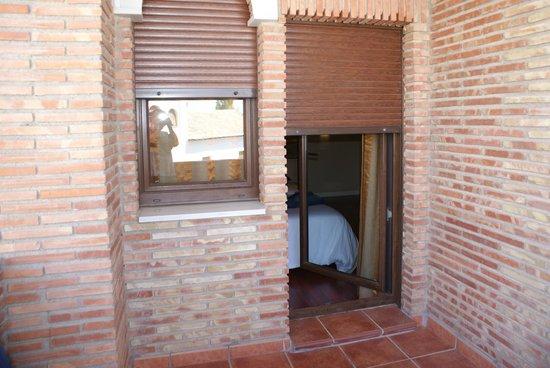 Hotel Granada Palace: terraza