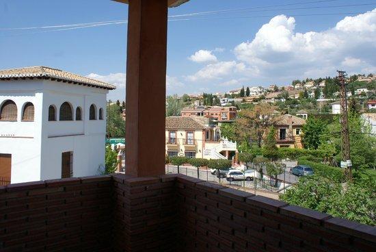 Hotel Granada Palace : terraza