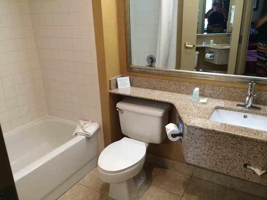 Comfort Inn Greensboro Wendover: bathroom