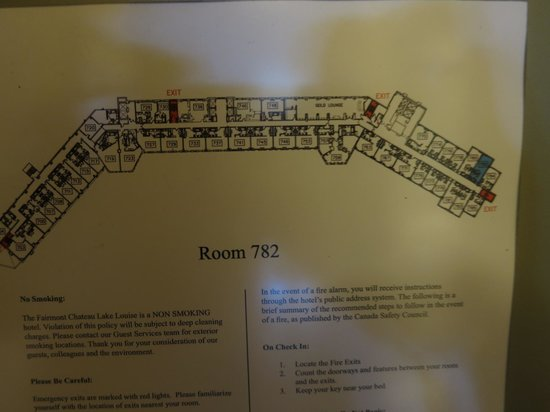 Gold Floor Floorplan Picture Of Fairmont Chateau Lake Louise