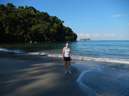 Manuel Antonio: One of the many beaches in the Park